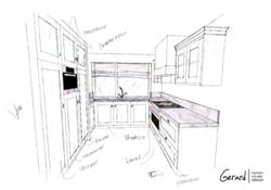 Gerard keuken meubel design op maat gemaakte meubels for Keuken in 3d tekenen