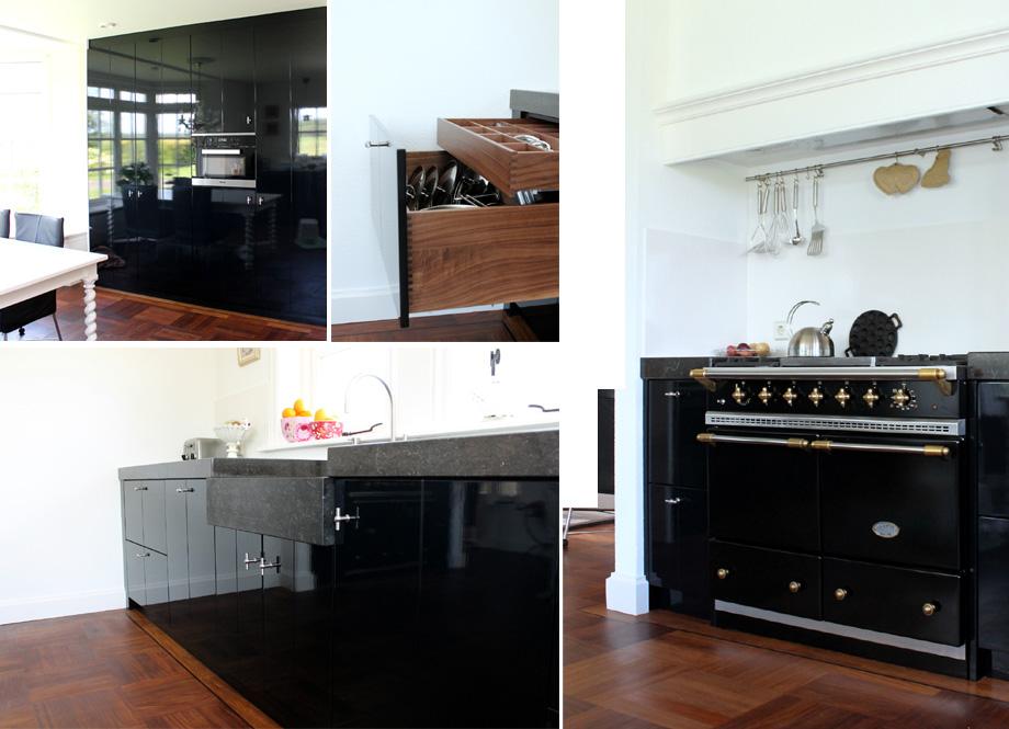 Amerikaanse Keuken Apparatuur : keuken heeft een gestuukte look. In de keuken zit Siemens